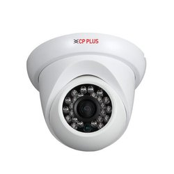 Analog Camera CP Plus 2.4MP HD CCTV Dome Camera- Fibre Body, For Security Purpose