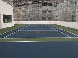 PVC Indoor Sports Flooring Services