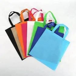 Handled Non Woven Loop Handle Bag, For Shopping, Capacity: Upto 8 Kg