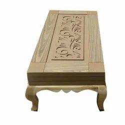 4x2 Feet Teakwood Wooden Center Table