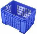 Rectangular Plastic Banana Crates, Model Name/number: Mhc-543934-asp, Capacity: 48 Ltr