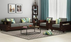 Neelkanth Foam Modular Sofa Set, Tight Back, Seating Capacity: 5 Seater