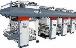 300 MPM MLS Rotogravure Printing Machine