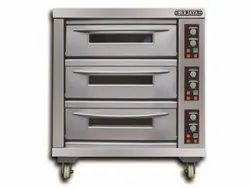 Berjaya Baking Oven - 3 Deck 6 Tray BJY-E20KW-3BD