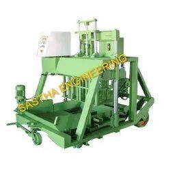 Semi Automatic Hollow Solid Block Machine