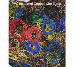 70 % PVC Insulated Copper Wire Scrap