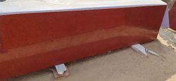 Polished Lakha Red Granite Slab, For Flooring, Thickness: 16.5 mm