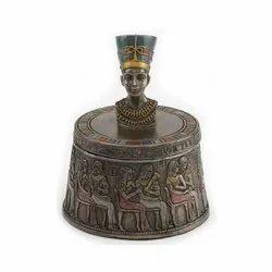 Nefertiti Bust Jewelery Box
