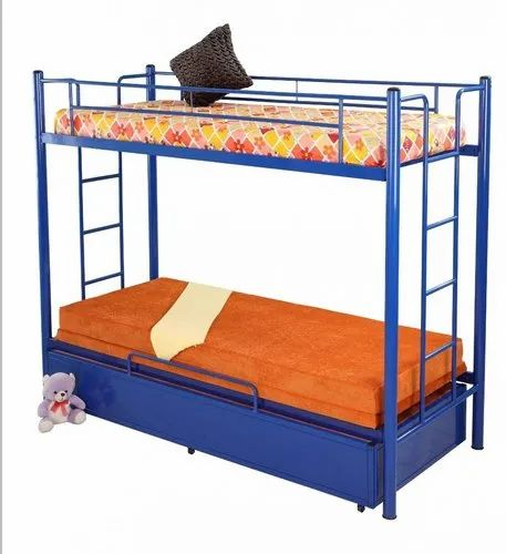 Metal Pull Out Bunk Bed For Home Size 6x3 Ft Rs 34500 Set Oliver Metal Furniture Id 22975544012