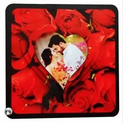 VHPC-39 Sublimation Hardboard 3D Photo Frame