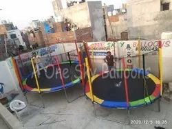 Colored Trampolines