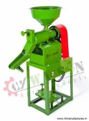 1RK40 Integrated Butterfly Engine Operated Rice Milling Machine