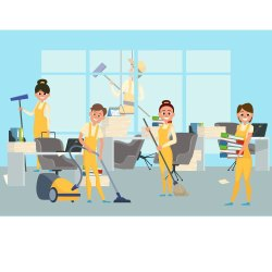 Commercial Office Housekeeping Service, in Local Area