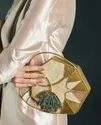 Exclusive Brass Mother Of Pearl Clutches