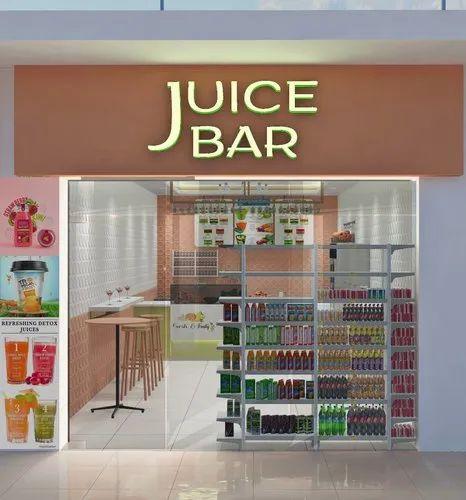 Juice Shop Design Services, Departmental Store Interior