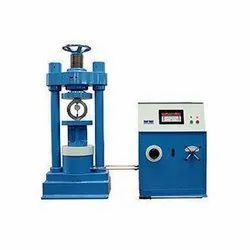 3 Phase Digital Cube Testing Machine, Packaging Type: Wooden, Model Name/Number: Nmt-ctm