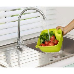 Plastic Square Washing Basket