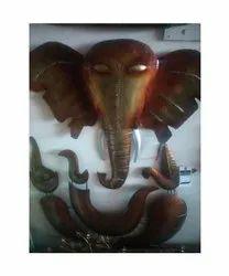Indoor Fiber Ganesha Statue, Size: 40 Inch