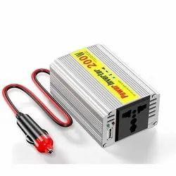 12 (v) CAR POWER INVERTER 200W, 110-220 (v)