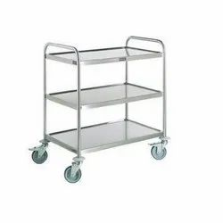 Stainless Steel SS Trolley