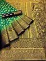 Banarasi Silk Saree With Rich Pallu