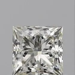 0.50ct Princess L SI1 GIA Certified Natural Diamond