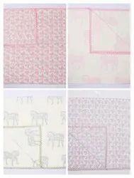 Hand Block Printed  Cotton Baby Dohar