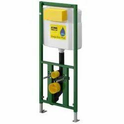 Single Flush PVC Viega Cisterns, For Toilet