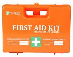 ABS Plastic Industrial First Aid Kit, Packaging Type: Box