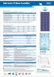 INA 325 W 24V Monocrystalline Solar Panel