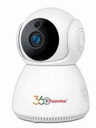 Trueview T17931 360 Degree 1080p HD Wireless CCTV Camera No (1 Channel, White)