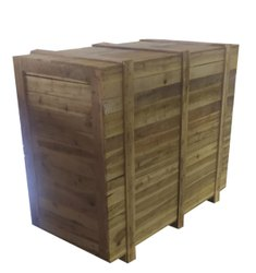 Rectangular Hard Wood Industrial Wooden box
