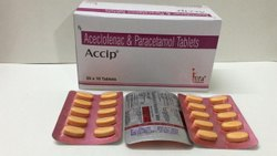 Aceclo and paracetamol tablets