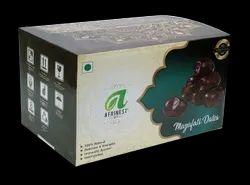 Afrinest IRANI BAM Mazafati Soft Black Date A Grade, Cold Storage, Packaging Type: C -BOX