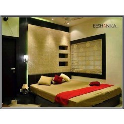 Modern Bedroom Interior Designing Services, Work Provided: Wood Work & Furniture