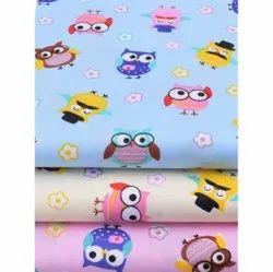 Analyse Apparels For Nighty Cartoon Printed Cotton Fabric