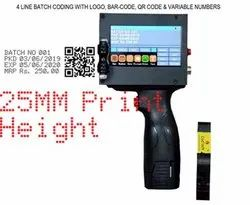 Industrial Handheld Non-Contact Large Character Ink Jet Printer