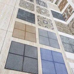 Qantas Ceramic Square Matt Parking Tiles