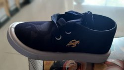 Canvas Daily wear Horse Boys Blue Casual Shoes