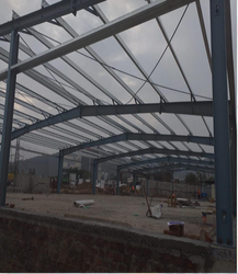 Steel Frame Structures Ms Industrial Construction Service, in Delhi