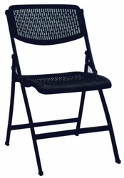 Iron Modern Plastic Folding Chair, For Home