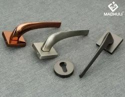 Wholesale Attractive Simple Zamak Mortise Handle For Every Door-69