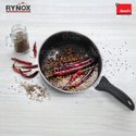 Rynox Ceramic Coated Black Coating 3 Pcs Cookware Set