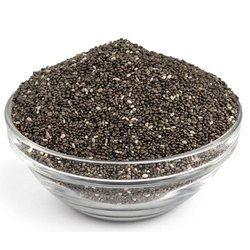 Natural Chia Seeds Black, For Ready To Eat