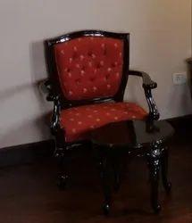 Brown Polish. Designer Wooden Chair