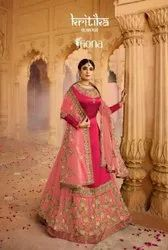 Fiona Kritika Colour Plus Vol 3 Satin Georgette Designer Salwar Suit Catalog