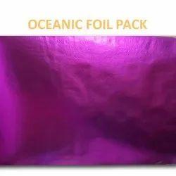 Pink Color Metallic Laminated Non-Woven Fabric
