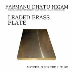 Leaded Brass Plate