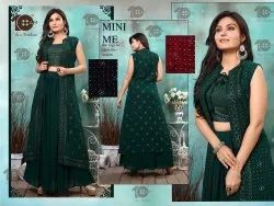 Designer Georgette Skirt Set