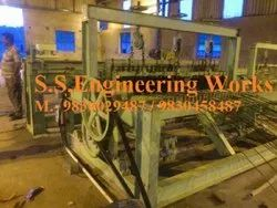 Large Crimped Wire Mesh Weaving Machine